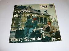 "HARRY SECOMBE - Vienna City of my Dreams - 1962 UK 2-Track 7"" EP vinyl single"