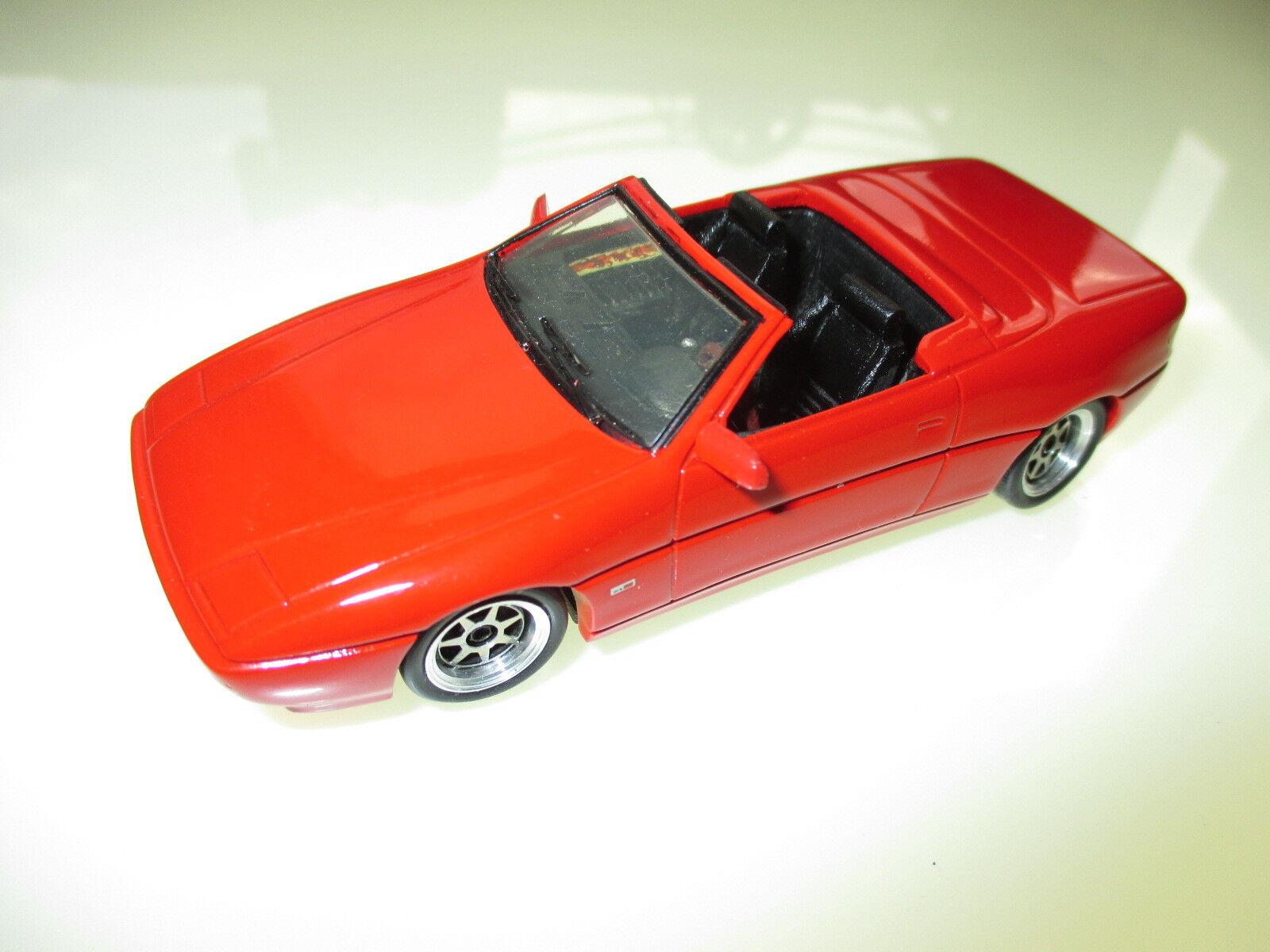 Maserati Spider OPAC 1993 in Rouge rouge, Alezan Ducleux à la main handmade 1 43