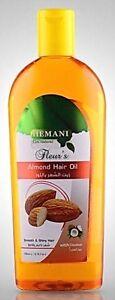 Hemani-Mandelol-amp-Kokosol-Almond-Oil-Top-Qualitat-Haarol-haarwuchs-haarausfall