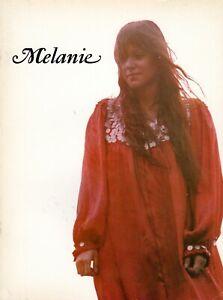 MELANIE-SAFKA-1971-BRAND-NEW-KEY-CONCERT-TOUR-PROGRAM-WOODSTOCK-NEAR-MINT-2-MINT