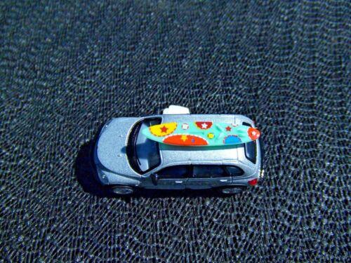 1:68 Scale Kinsmart Key Tag Chain Chrysler PT Cruiser Wind-up Toy