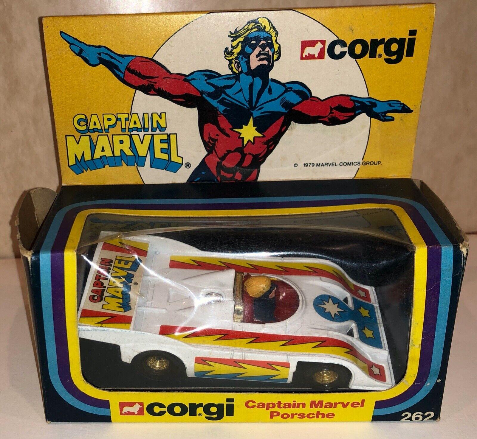 Corgi 262 Captain Marvel Porsche- Near Mint in Box