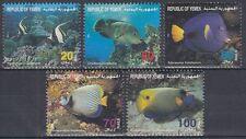 Yemen Republic 1996 ** Mi.194/98 Fische Fish Poissons