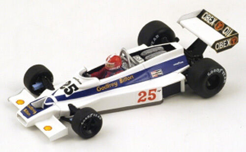 Spark Model 1 43 S2236 Hesketh 308E  25 US GP 1977 - Ashley NEW