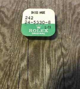 Sealed-vintage-Rolex-watch-18K-yellow-crown-tube-24-5330-8-part-5-3mm-Datejust