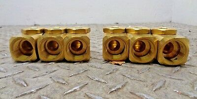 """5 NEW SPRAYING SYSTEMS 1//4 A5 5W WHIRLJET 316SS 1//4/"""" NPT SPRAY NOZZLE LOT OF 5"""
