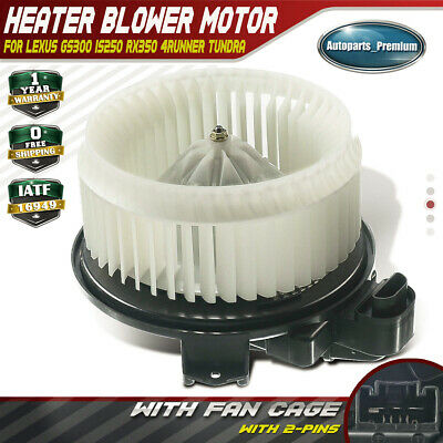 Front HVAC Blower Motor TYC For Lexus ES350 Toyota 4Runner Avalon Camry Venza