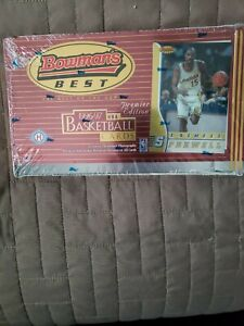 1996-97 Bowman's Best Basketball Unopened Sealed Hobby Box w/ 24 Packs