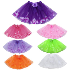 Cute-High-Quality-Baby-Girls-Kids-Floral-Tutu-Ballet-Skirts-Fancy-Party-Skirt