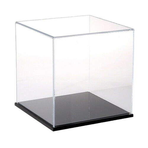 Acrylic Display Case//Box 18cm Cube Dustproof ShowCase for Action Figure Doll