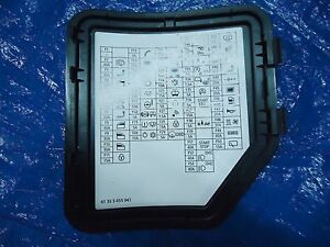 2007-2013 mini cooper r55 r56 r60 r61 fuse box label trim ... 2004 mini cooper s fuse box 2007 mini cooper s fuse box #5