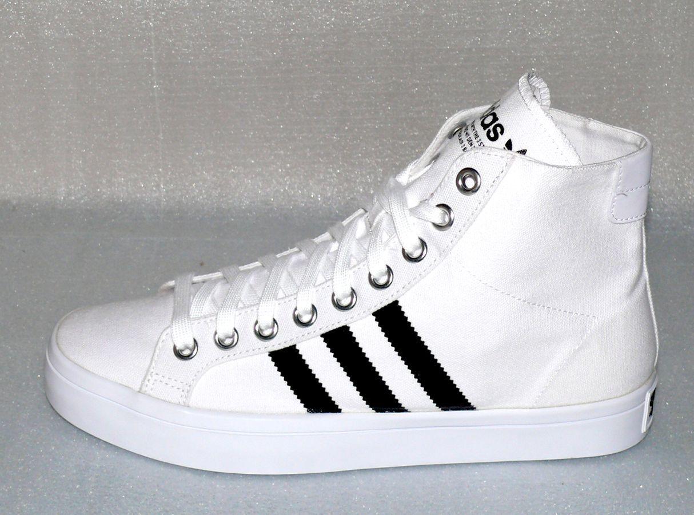 Adidas S78792 Court Vantage MID Herren Schuhe Sneaker EU 48 US13 White Black