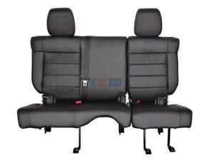 Excellent Details About 2012 2011 Jeep Wrangler 4 Door Rear 60 40 Split Bench Seat In Black Leather Uwap Interior Chair Design Uwaporg