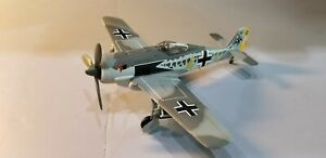 "ARMOUR (98032) LUFTWAFFE FW-190 ""SCHNELL"" 1:48 SCALE DIECAST METAL MODEL"