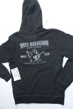 True Religion Hoodie Black Short Sleeves Jacket 3xl XXXLARGE XXXL
