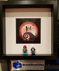 Nightmare Before Christmas Minifigure 3d Frame Jack Sally Tim Burton