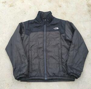 Men-039-s-The-North-Face-Light-Gray-Black-Soft-Shell-Jacket-Size-Medium