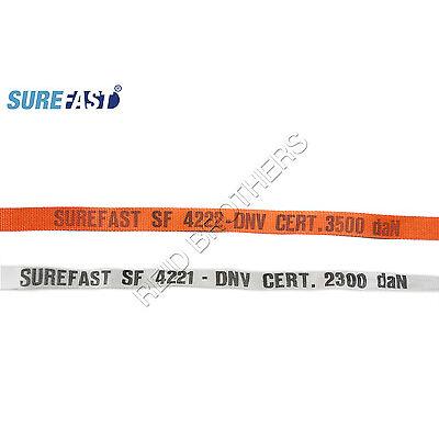 SureFast Heavy Duty Woven Polyester Lashing (White or Orange)