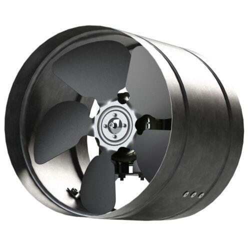 160-350mm Ventilatore Linea Metallo Zincato Canalizzazion Industriale Aspiratore