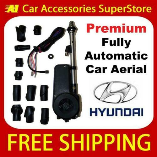 Hyundai Premium Car Aerial Electric Automatic Multi Head 12v 12 Volt Wing Fit