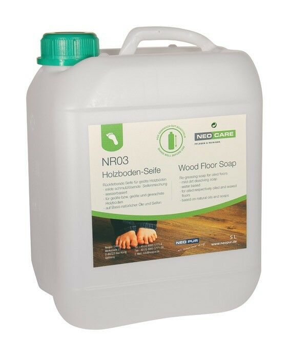 Neopur Neocare Holzboden-Seife Holzseife NR03 5 L L L geölt geseift dbc17e
