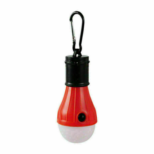Portable Travel LED Camping Tent Light Bulb Outdoor Hanging Fishing Lantern Lamp