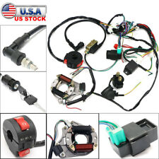 Electrics Wiring Harness Coil CDI Stator Light Assembly 50cc 70 90 110 125cc ATV