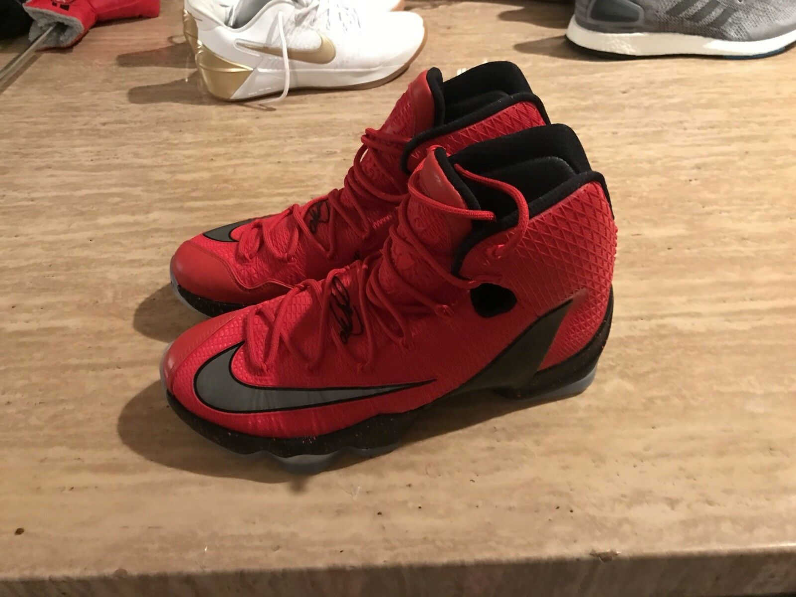 quality design 0ab0d 91703 Offers On Nike LeBron XIII 13 Elite James University Red Black (831923-606)