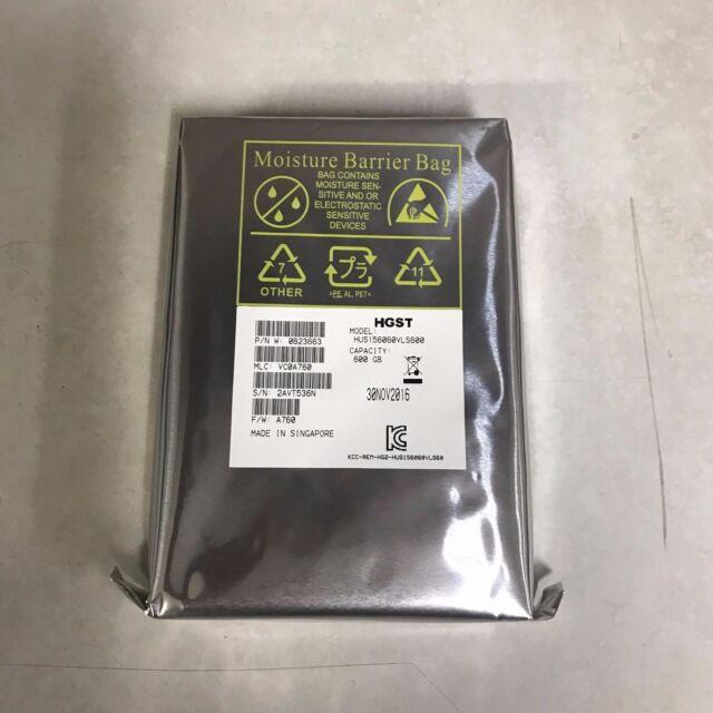 "Hitachi Ultrastar 600GB 15K 3.5"" LFF SAS 6Gb/s Enterprise Hard Drive PN: 0B23663"