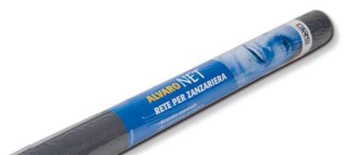 ALVARO NET Zanzariera ORIZZONTALE rotolo ricambio tessuto fibra vetro 120x250
