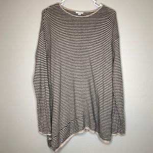 Pure-J-Jill-Sweater-Cashmere-Cotton-Blend-Long-sweater-Size-M