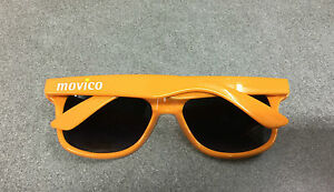 cd819b1c72bc51 PAIRE DE LUNETTES DE SOLEIL ORANGE VELO CYCLISME MOVICO CARAVANE TOUR DE  FRANCE - France -