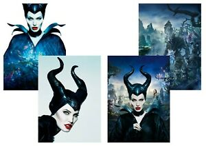 Details About Walt Disney Maleficent Sleeping Beauty Angelina Jolie A5 A4 A3 Textless Posters