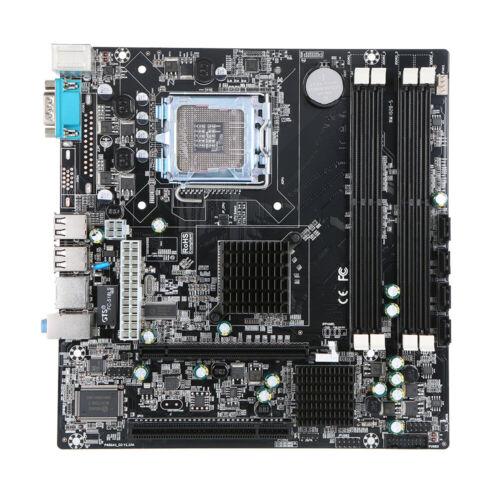 P45 Chipset Motherboard Socket LGA775 Mainboard 4*SATA3 for Intel DDR3 32GB R7N3
