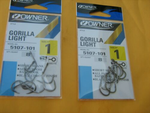Owner 5107 Saltwater Gorilla Light Hooks