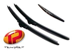 Volkswagen-Touareg-Front-amp-Rear-Windscreen-Wiper-Blade-Set-FB65-65-RB-250