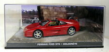 Fabbri 1/43 Scale Ferrari F355 GTS Goldeneye James Bond 007 diecast model van