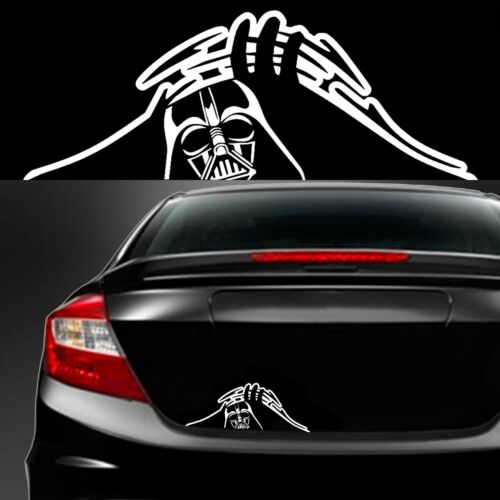 DARTH VADER TRUNK PEEK Decal Sticker CAR JDM 13.1 0.0 STAR WARS EMPIRE REBEL
