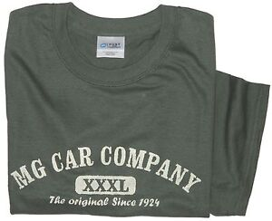 bb6b8c143 MG CAR COMPANY XXXL design 100% cotton T-Shirt Med - XXL   eBay