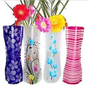 PVC-Foldable-Unbreakable-Flower-Vase-Novel-Home-office-Decor