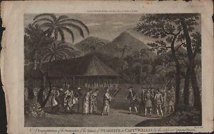 OTAHEITE-Captain-Wallis-Captain-Cook-Surrender-Island-c-1860-HL2-629