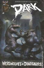 Dark Werewolves vs. Dinosaurs #1 Variant (2016) American Mythology