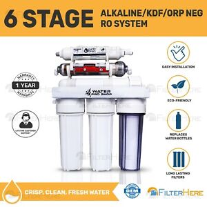 6 Stage Replacement Home RO Water Filter System + pH Alkaline