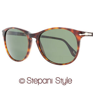 0d9ac55ea6 Image is loading Persol-Oval-Sunglasses-PO3042S-24-31-Size-54mm-