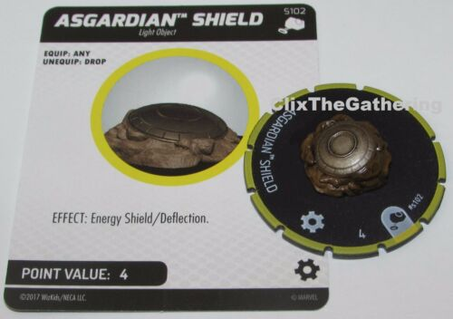ASGARDIAN SHIELD S102 The Mighty Thor Marvel Heroclix starter object