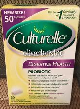 NEW Culturelle 50 Probiotic Daily Digestive Health Capsules Exp. FEB 2018 Sealed