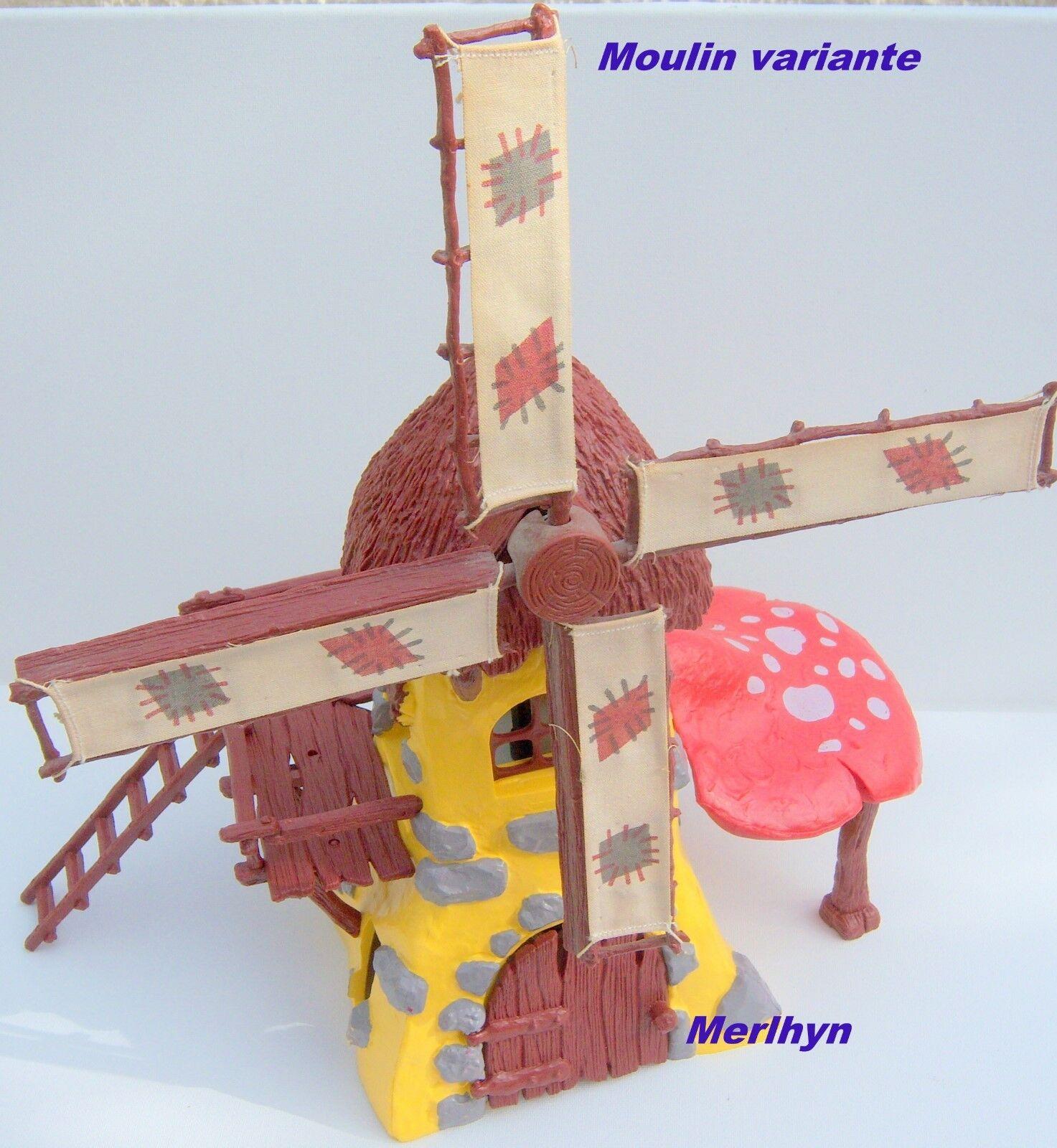5200 Schtroumpf moulin gituttio Smurf pitufo puffo  puffi schtroumpfette complet  senza esitazione! acquista ora!