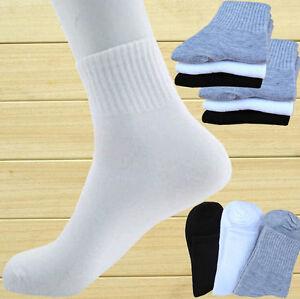 Men-Women-Lot-4-12-Pairs-Ankle-Quarter-Breathable-Low-Cut-Casual-Ankle-Socks