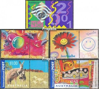 Ingenious Australia 2042zf-2046zf With Zierfeld Unmounted Mint / Never H Superior Quality In complete.issue.