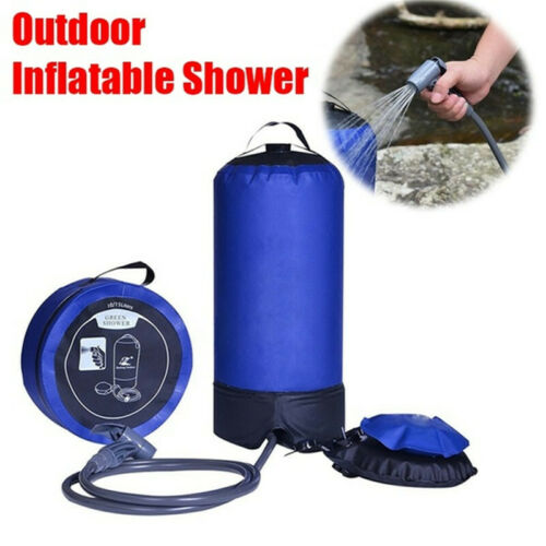 Inflatable Camping Shower 11 Litres Outdoor Camping Car Washing Pets Shower